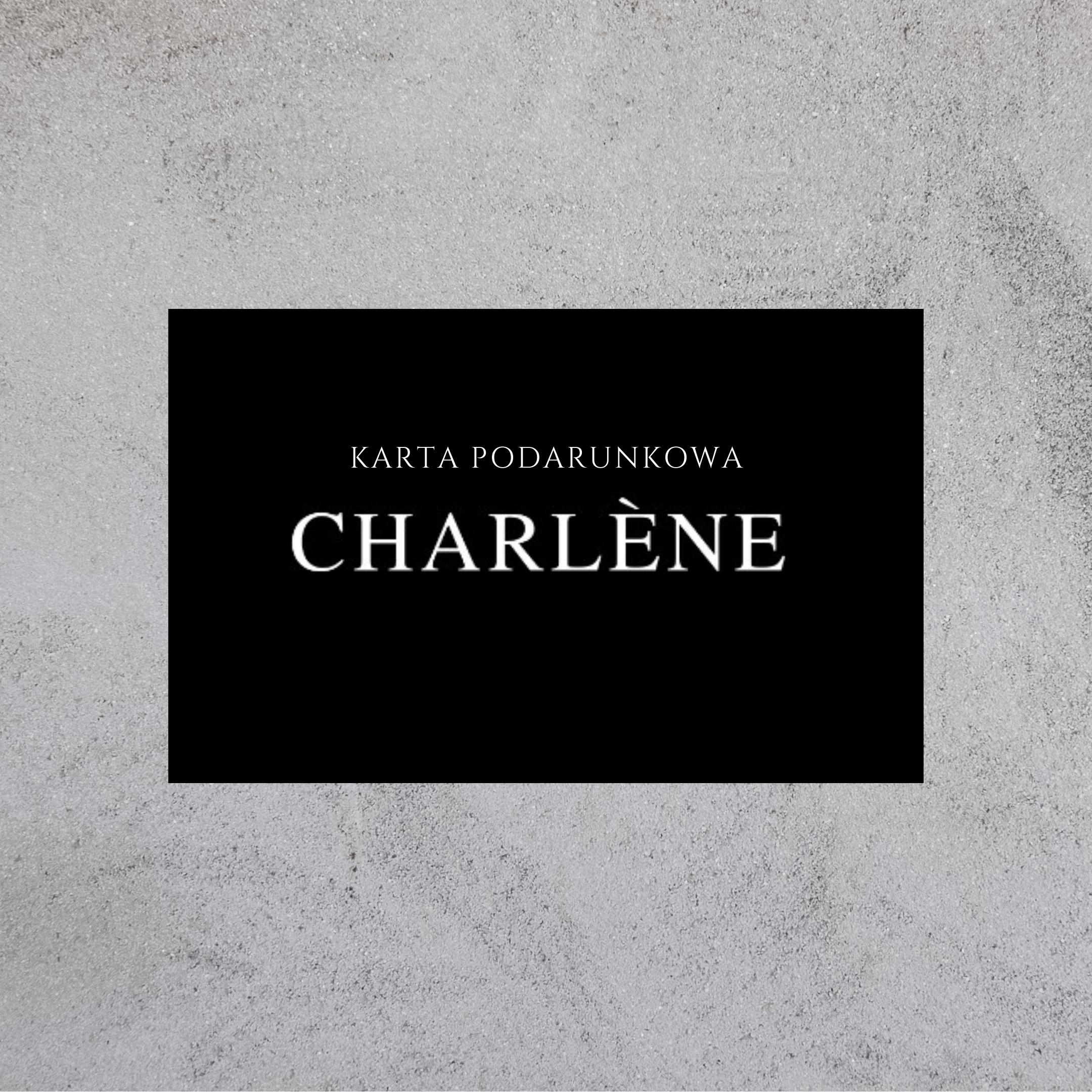 karta podarunkowa charlene